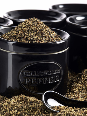 TELLICHERRY Pepper crock